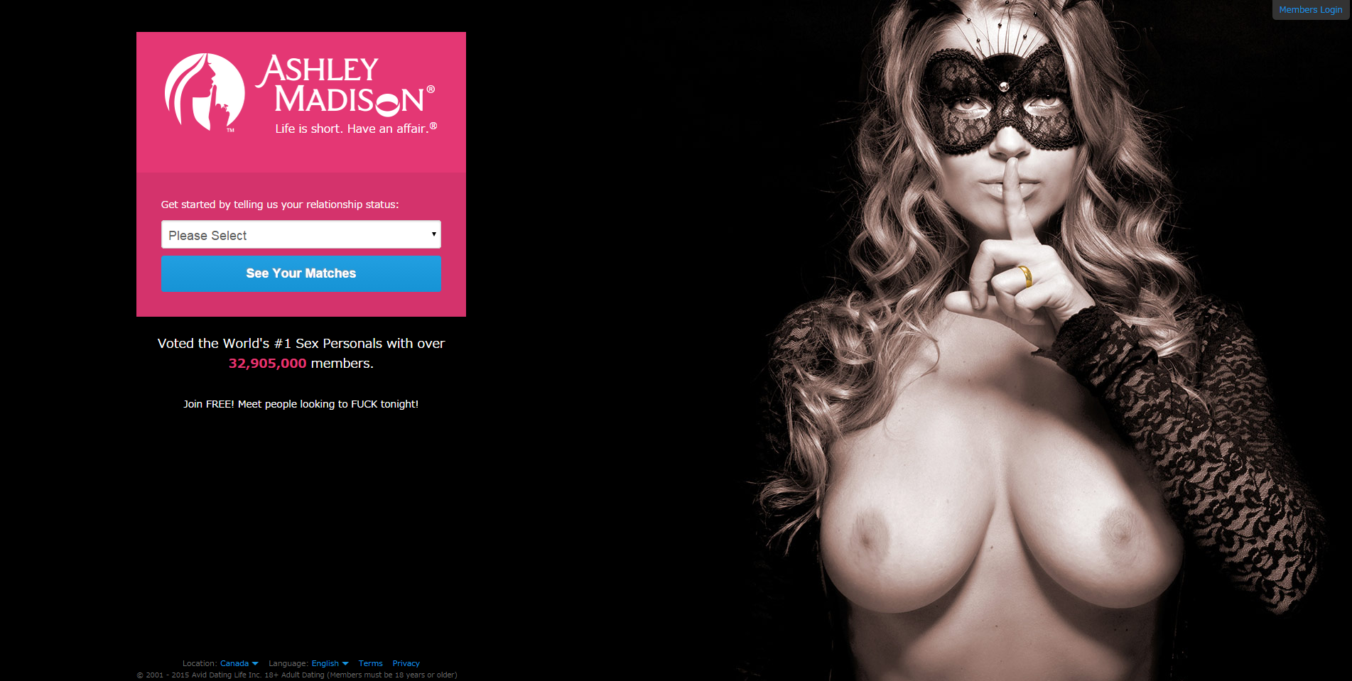 ashley madison dating site review